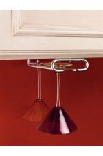 SR-3150-11 | Stemware Under Cabinet Organizer Wall Accessories (Single)
