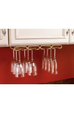 SR-3450-11 | Stemware Quad Under Cabinet Organizer Wall Accessories