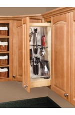POW-444-WC-5SS | Wall Cabinet Pullout Organizer with Stainless Panel Wall Accessories