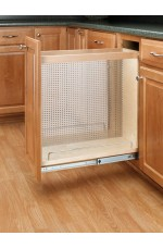 POB-444-BC-8SS | Base Cabinet Pullout Organizer with Stainless Panel Sink & Base Accessories