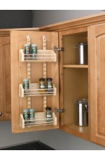 SD-4ASR | Door Storage Adjustable Spice Rack Wall Accessories