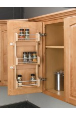 SD-4SR | Door Storage Spice Rack Wall Accessories