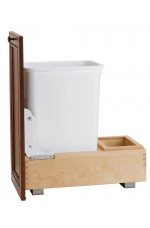 WCS-4WC-15DM1 | Single Bottom Mount Wood Waste Containers
