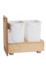 WCD-4WC-18DM2 | Double Bottom Mount Wood Waste Containers