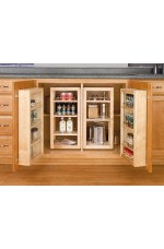 SOB-4WBDP18-25 | Base Cabinet Swing Out Single Pantry Sink & Base Accessories (Door Unit Only)
