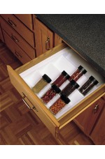 SD-ST-2GW-52 | Cut-To-Size Insert Spice Organizer for Drawers