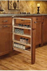 FPB-432-BFBBSC | Base Filler Pullout Organizer with Ball Bearing Soft-Close Sink & Base Accessories