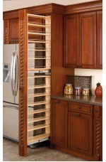 FPT-432-TF | Tall Filler Pullout Organizer with Wood Adjustable Shelves Tall/Pantry Accessories