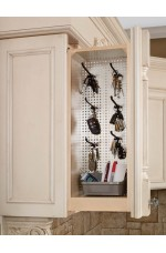 FPW-434-WF | Wall Filler Pullout Organizer with Stainless Panel Wall Accessories