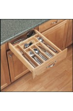 4WCT-1 | Cut-To-Size Insert Wood Cutlery Organizer for Drawers