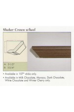 "ALLURE M-Shaker Crown w/heel | 107"" long"