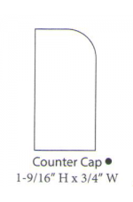 "PAINTED M-Counter Cap | 96"" long"