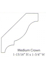 "PAINTED M-Medium Crown | 96"" long"
