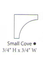 "PAINTED M-Small Cove | 96"" long"