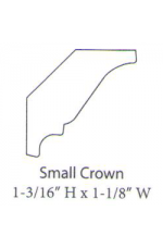 "PAINTED M-Small Crown | 96"" long"