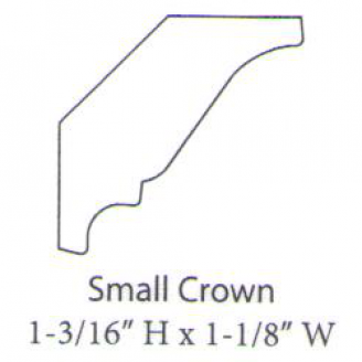 """PAINTED M-Small Crown 